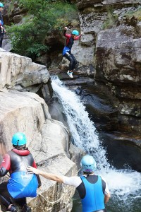 Axécime Canyoning