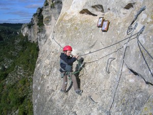 Axécime Via Ferrata